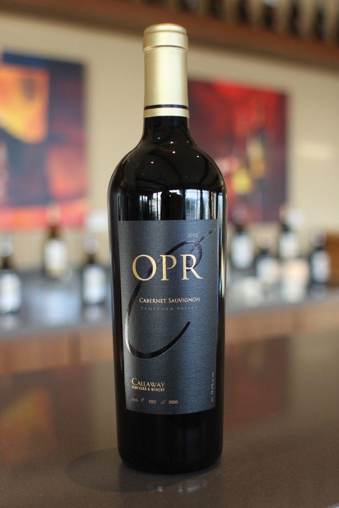 OPR Cabernet Sauvignon wine