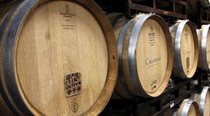 Callaway OPR wine barrel